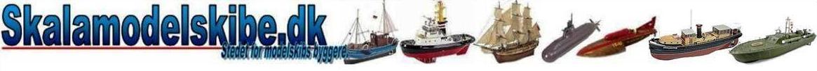 Det nye Skalamodelskibe
